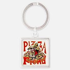 Pizza Fiend Keychains