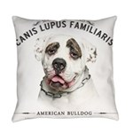 Mans Best Friend Everyday Pillow