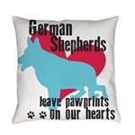 pawprints.png Everyday Pillow