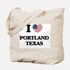 I love Portland Texas Tote Bag