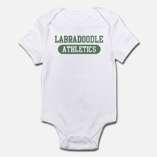 Labradoodle athletics Infant Bodysuit