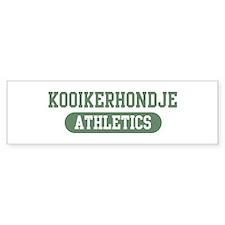 Kooikerhondje athletics Bumper Bumper Sticker