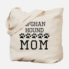 Afghan Hound Mom (Distressed) Tote Bag