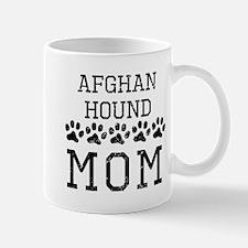 Afghan Hound Mom (Distressed) Mugs