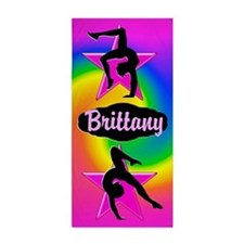 Colorful Gymnastics Beach Towel