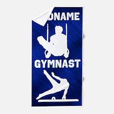 #1 Star Gymnast Beach Towel