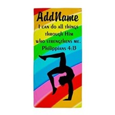 GYMNAST PHILIPPIANS 4 Beach Towel