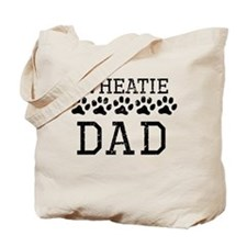 Wheatie Dad (Distressed) Tote Bag