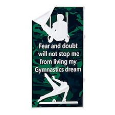 Forever A Gymnast Beach Towel