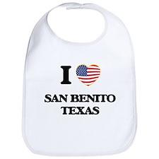 I love San Benito Texas Bib