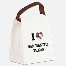 I love San Benito Texas Canvas Lunch Bag