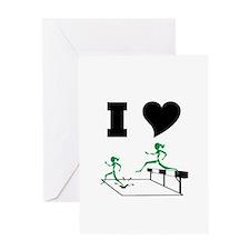 SteepleChics Greeting Card