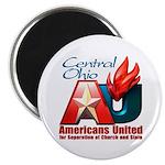 "Americans United Ohio 2.25"" Magnet (100 pack)"