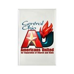 Americans United Ohio Rectangle Magnet (100 pack)