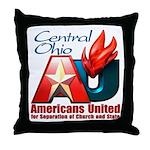 Americans United Ohio Throw Pillow