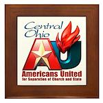 Americans United Ohio Framed Tile