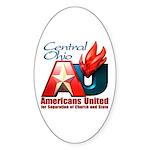 Americans United Ohio Oval Sticker