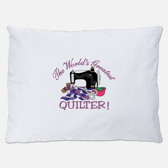 The Worlds Greatest Quilter Dog Bed