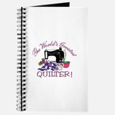 The Worlds Greatest Quilter Journal