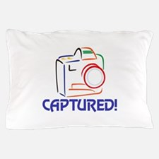 Captured on Camera Pillow Case
