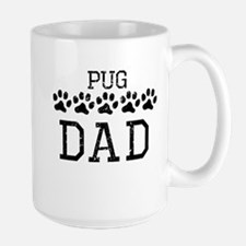 Pug Dad (Distressed) Mugs