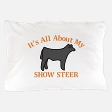 Show Steer Pillow Case