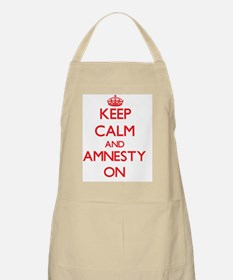 Keep Calm and Amnesty ON Apron