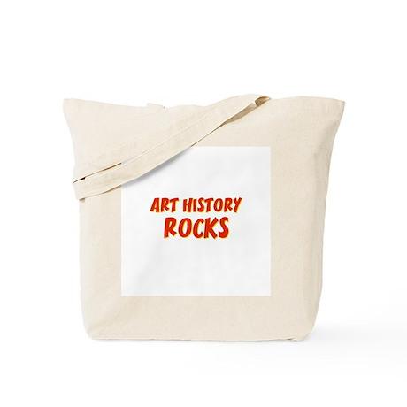Art History~Rocks Tote Bag