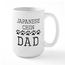 Japanese Chin Dad (Distressed) Mugs