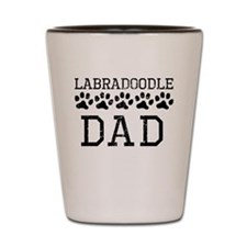 Labradoodle Dad (Distressed) Shot Glass