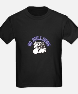 Go Bulldogs (with border) T-Shirt