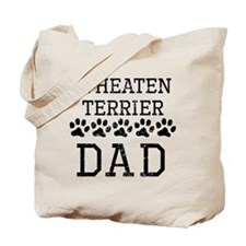 Wheaten Terrier Dad (Distressed) Tote Bag