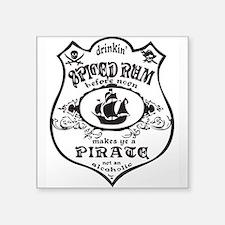 Vintage Pirate Spiced Rum Sticker