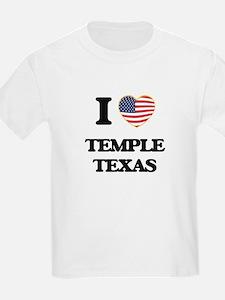 I love Temple Texas T-Shirt