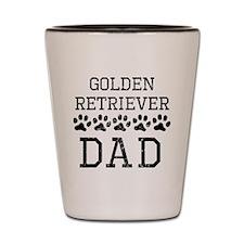 Golden Retriever Dad (Distressed) Shot Glass