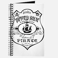Vintage Pirate Spiced Rum Journal