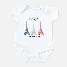 Paris Eiffel Tower Infant Bodysuit