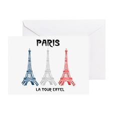 Paris Eiffel Tower Greeting Card