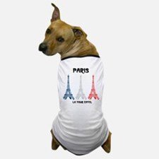 Paris Eiffel Tower Dog T-Shirt