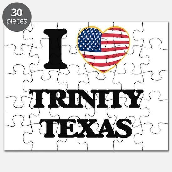 I love Trinity Texas Puzzle