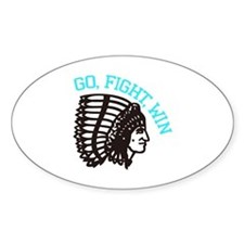 Go Fight Win Decal