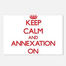 Keep Calm and Annexation Postcards (Package of 8)