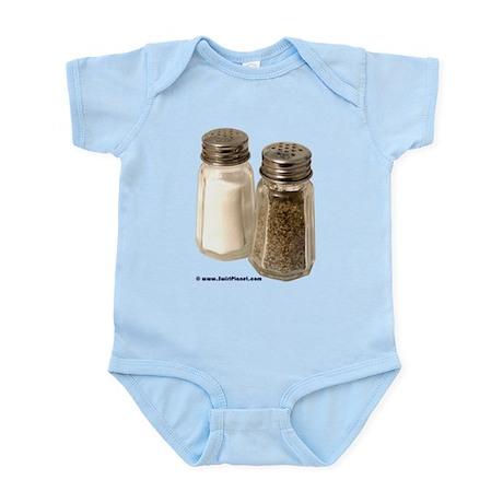 Salt & Pepper Gear Infant Creeper