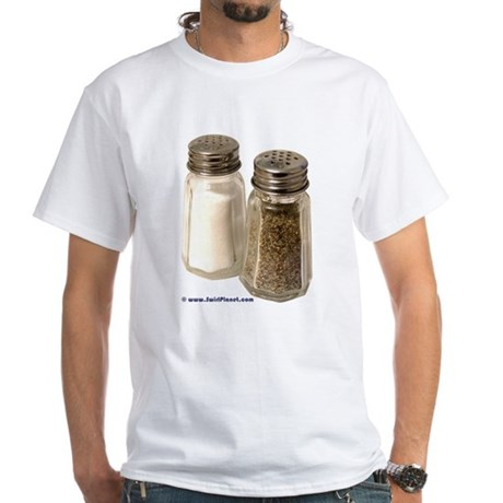 Salt & Pepper Gear White T-Shirt