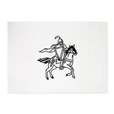 Lancers Mascot 5'x7'Area Rug