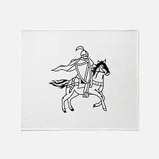 Lancers Mascot Throw Blanket