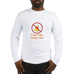 Candy Corn Long Sleeve T-Shirt