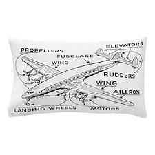 Airplane Pillow Case