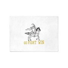 Go Fight Win 5'x7'Area Rug