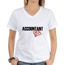 Off Duty Accountant Shirt